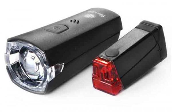 """""""SLIM"""" Halogen-Batterielampenset (LED)"""