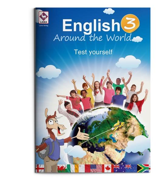 English Around the World 3 – Test yourself-Heft (VA-Schrift)