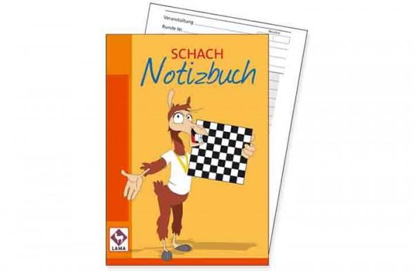 Schach – Notizbuch