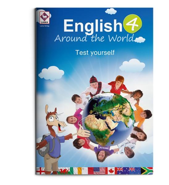 English Around the World 4 – Test yourself-Heft (VA-Schrift)