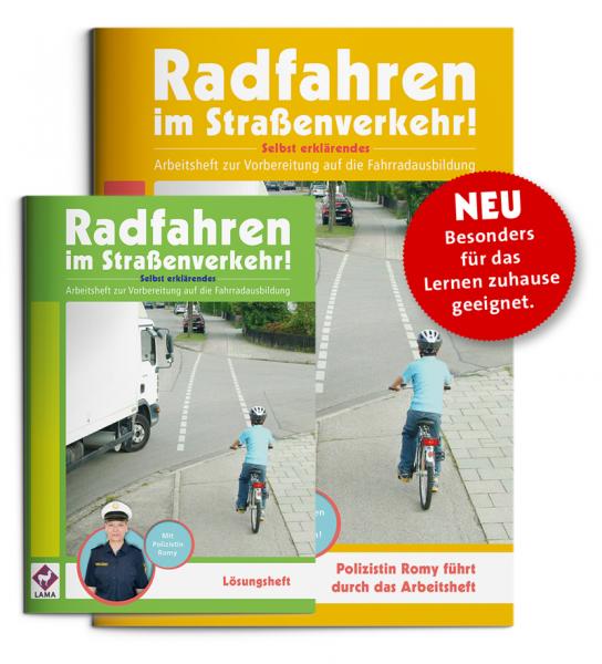 Radfahren im Straßenverkehr - Arbeitsheft mit Lösungsheft