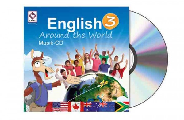 English Around the World 3 – Musik-CD