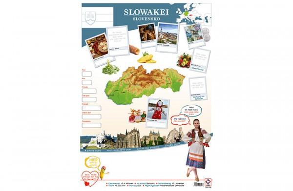 Slowakei Länderposter A1