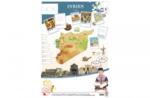 Syrien Länderposter A2