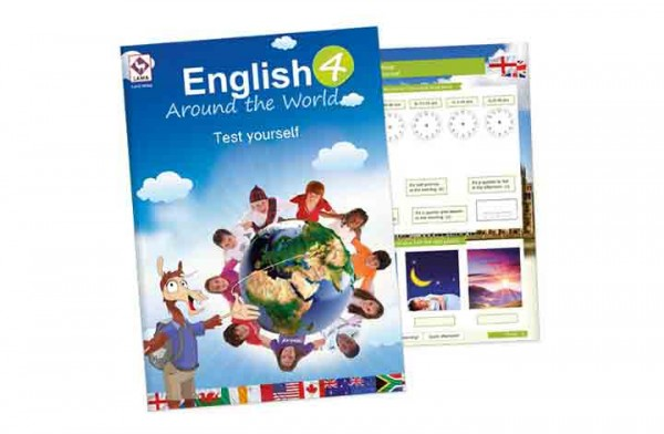 English Around the World 4 – Test yourself-Heft (VA-Schrift)