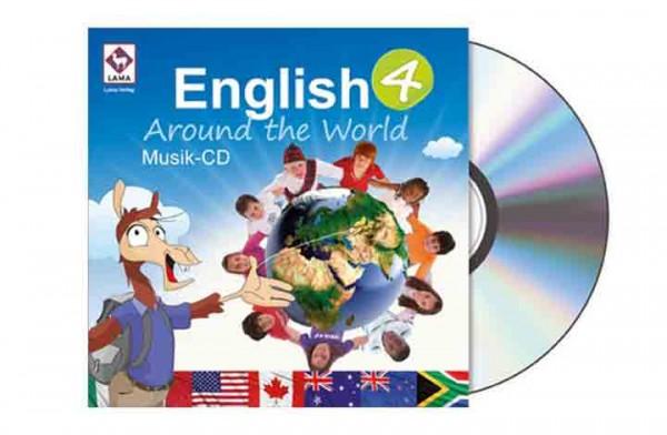 English Around the World 4 – Musik-CD