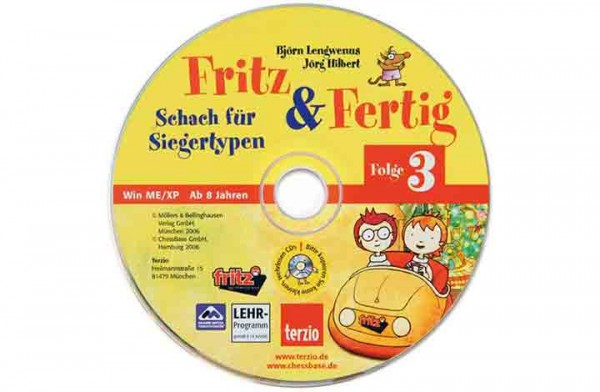 "Fritz & Fertig ""Schach für Siegertypen"" – CD-ROM|Folge 3"