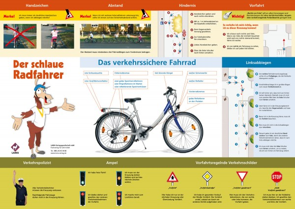 Der schlaue Radfahrer – Poster