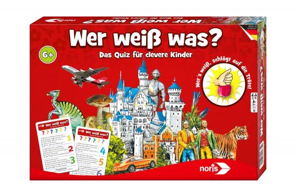Lernspiel | Wer weiß was?
