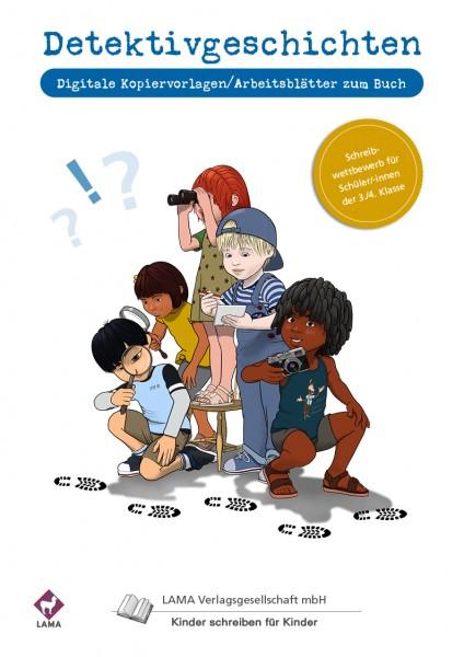 Detektivgeschichten-Buch   Digitale Kopiervorlagen (Arbeitsblätter)