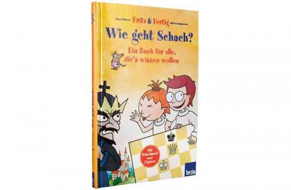 """Fritz & Fertig """"Wie geht Schach?"""" - Buch"""
