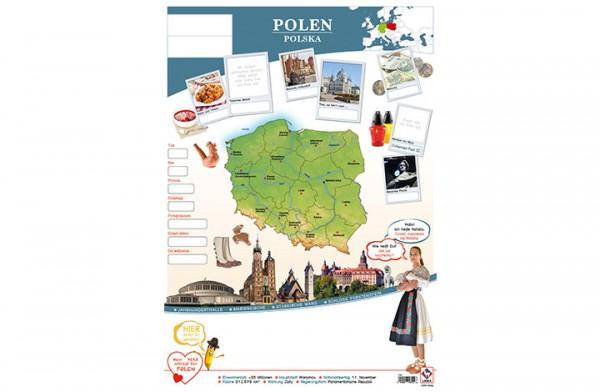 Polen Länderposter A2