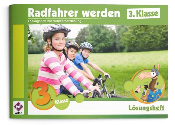 Radfahrer werden | 3. Klasse – Lösungsheft
