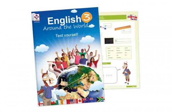 English Around the World 3 – Test yourself-Heft (VA-Schrift)