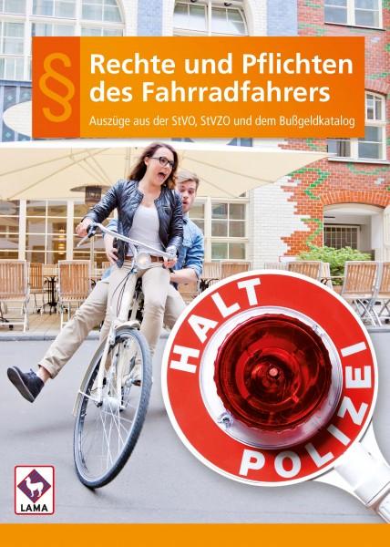 Rechte und Pflichten des Fahrradfahrers